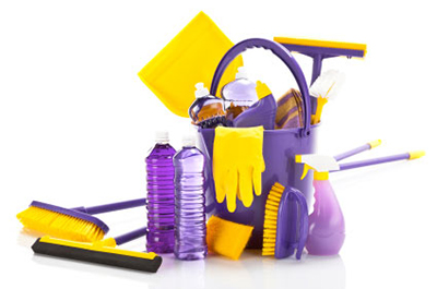image of kitchen cleaning products