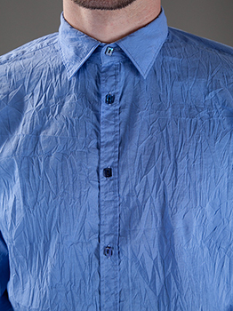 image of a man with a creased shirt