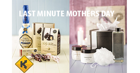 images of the last minute mother's day hamper prizes