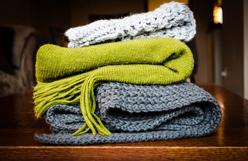 image of winter blankets