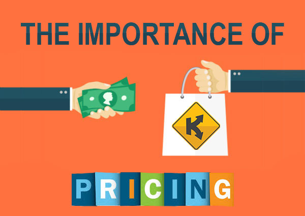 banner describing the importance of pricing