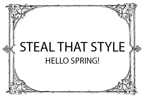 image of the hello spring heading