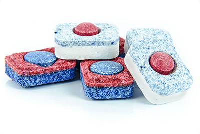 image of cleaning tablets