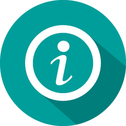 image of an about us icon