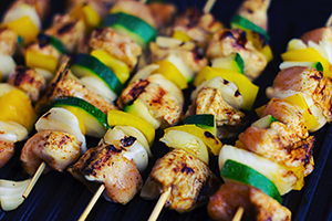 image of grilled food