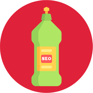 image of an SEO clean up